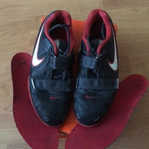 Nike Romaleos 2 weightlifting shoes.